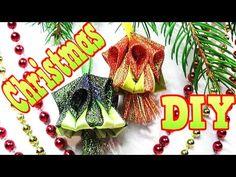 DIY Christmas Crafts ideas / Елочные игрушки на Новый Год своими руками / Kanzashi Tatiana Vasyliuk - YouTube