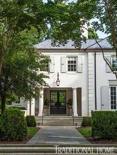 Residencia Hamlin, Charleston, Carolina del Sur.  McAlpine Arquitectura Tankersley.  Welhil Interiores.  John Bessler foto en hogar tradicional.