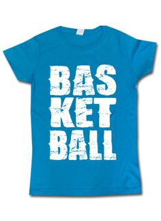 Our all-new Basketball Big Print Tee!
