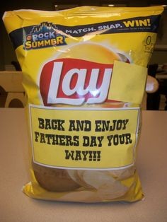 Father's Day Potato Chips #Chips #Dips #Salsa #Potato #Kettle #Corn #Rice