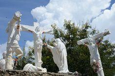 O Cruzeiro no topo do Morro da Lapa - Bom Jesus da Lapa/BA