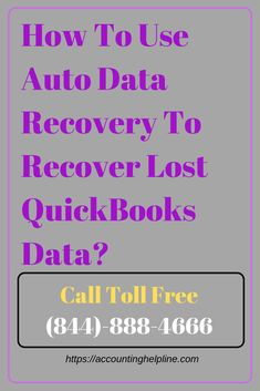 How To Use Auto Data Recovery To Recover Lost QuickBooks Data?