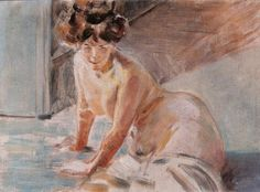 Jacek Malczewski - Study of a Female Nude