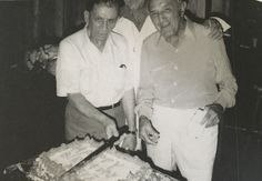 Meyer Lansky and Vincent Alo. Meyer celebrated his 80th birthday here.  Pic courtesy: Avi Bash, Organized Crime In Miami book.