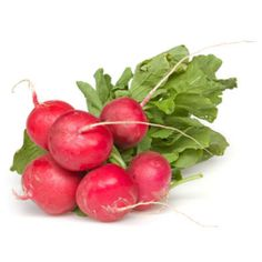 Radishes are packed with potassium, folic acid, antioxidants, and sulfur compounds that aid in digestion.