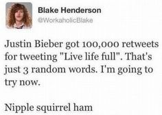 Funny Celebrity Tweets