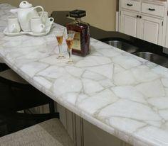 Countertops and Backsplashes -- Concetto White Quartz Countertop | Stone /  Tile / Backsplash | Pinterest | White quartz, Countertops and Countertop