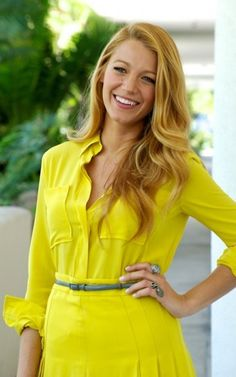 Blake Lively. She's always got such a great look.