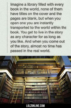Imagine A Library Filled With...#funny #lol #lolzonline