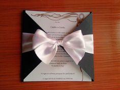 Despre invitatii si altele: Invitatie nunta mandmade model 15