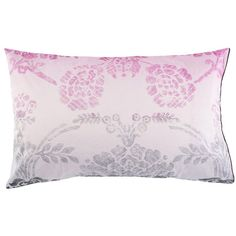Designers Guild Sukumala Lead Housewife Pillow case ($11) ❤ liked on Polyvore featuring home, bed & bath, bedding, bed sheets, purple, designers guild bedding, purple bedding, damask bedding, purple pillow cases and ombre bedding