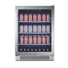 152 Can Built-In Beverage Cooler - Right Hinge
