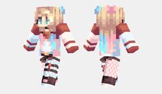 Elsa From Frozen Minecraft Skin Minecraft Girl Skins Pinterest - Skin para minecraft pe para descargar