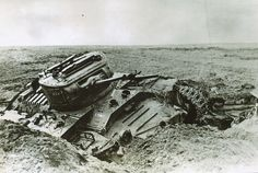 Valentine Mk II tank - Destroyed