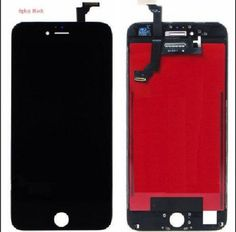 LCD Display +Touch Screen Digitizer For iPhone 6 Plus (Black) + Free Tempered