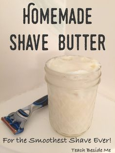 Homemade Shave Butter (For Mom or Dad!) Easy Homemade Shave Butter or shaving cream- Great gift for Dad!Easy Homemade Shave Butter or shaving cream- Great gift for Dad! Diy Gifts For Men, Great Father's Day Gifts, Homemade Gifts For Men, Homemade Crafts, Diy For Men, Handmade Gifts, Homemade Boyfriend Gifts, Gift For Man, Easy Homemade Christmas Gifts