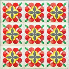 Apple  Blossom Quilt Pattern by Stitchery Dickory Dock