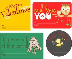 Embellish: {free printable} Valentines Day Tags