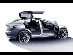 2012 Tesla Model X - Sketch 3 - 1920x1440 - Wallpaper