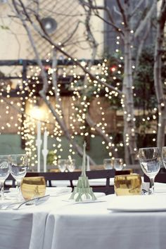 Paris themed wedding table