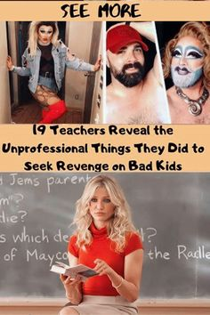 Bad Teacher: 19 Teachers Reveal the Unprofessional Things They Did to Seek Revenge on Bad Kids Kids Stealing, Fool Me Once, Bad Teacher, Dealing With Difficult People, Minion Jokes, Bad Kids, New Students, Kids Writing, Weird World