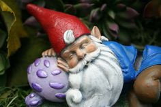 Sleeping Gnome Statue  Outdoor Miniature & Fariy by PhenomeGNOME, $39.99