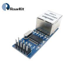 Livraison gratuite Mini ENC28J60 Ethernet LAN Réseau Module Pour Arduino 51 AVR SPI PIC STM32 LPC Gros Voltage Regulator, Sd Card, Spy, Mini, Brand Names, Module, Circuits, Free Shipping