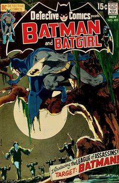 Detective Comics Cover art: The super swell Neal Adams! Action Comics 1000, Batman And Batgirl, Superman, League Of Assassins, Silver Age Comics, Enter The Dragon, Detective Comics, Comic Book Covers, Vintage Comics