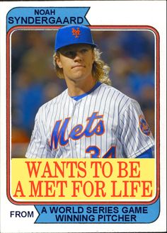 Mets Noah Syndergaard Wants To Be A Met For Life