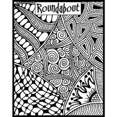 Helen Breil Texture Stamp - Roundabout