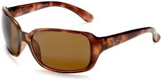 #deal Ray-Ban RB4068 Oversized Wrap Sunglasses 60 mm, Polarized, Brown Tortoise/Brown http://www.thesterlingsilver.com/product/dolce-gabbana-womens-iconic-logo-mod-4170p-sole-oversized-sunglasses-26888g/