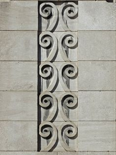 https://flic.kr/p/Bzv8cq | Art Deco Swirls | Art Deco ornament on a building at 229 Rue Notre-Dame Ouest in Montréal, PQ