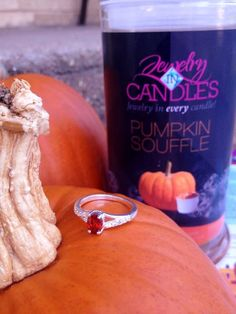 Ring found in Pumpkin Souffle Candle