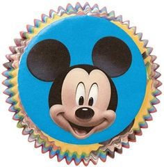 Wilton Disney Mickey Mouse Clubhouse Cupcake Mickey Liners, 50 Ct