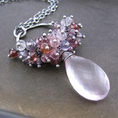 Statement Jewelry Gemstone Cluster