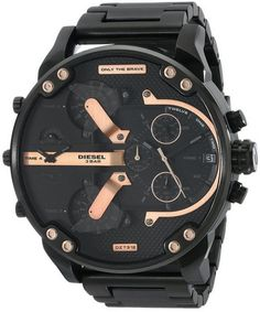 cool Men's DZ7312 The Daddies Series Analog Display Analog Quartz Black Watch - For Sale Check more at http://shipperscentral.com/wp/product/mens-dz7312-the-daddies-series-analog-display-analog-quartz-black-watch-for-sale/