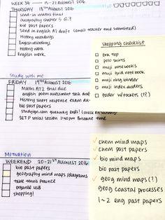 This week's bullet journal spread!! - studydeathperhaps