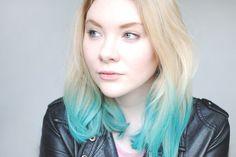 This Fashion is Mine: Blue Hair - The Body Shop Hair Chalk