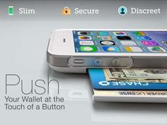 The Push iPhone Wallet Case for iPhone 5s/5c/5