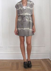 Vain and Vapid Tie Dye Lightning Wrap Dress.