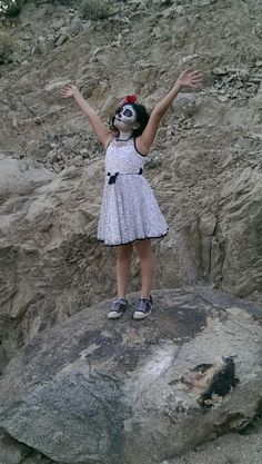 Day of the Dead photo shoot. Reaching for Heaven. 2015.