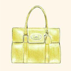 Mulberry Bag sketch