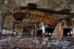 pictures of abandone buildings | Originally used as a post office, the Roosevelt Warehouse became a ...
