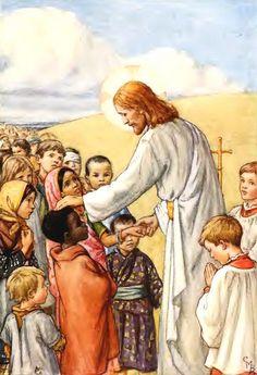 Jesus & the Children Cicely Mary Barker (28 June 1895 – 16 February 1973)