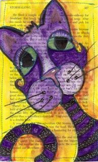 Fat Cat Art Studio / Artist: Corrie Manning... Expressing the Soul through ART: Altered Book