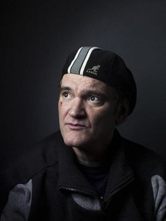 Quentin Tarantino in #kangol hat