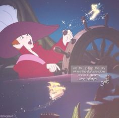 We fly up to the sky where the stars are close and our dreams are closer. Disney Dream, Disney Love, Disney Magic, Disney And Dreamworks, Disney Pixar, Walt Disney, Peter Pan Characters, Peter Pan 2003, Peter Pan Neverland