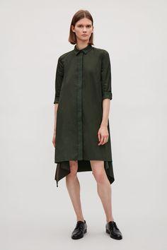 COS | Shirt dress with irregular hem