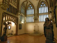 Interior del Palacio Episcopal de #Astorga (#CastillaYLeon - #España).  http://www.europeosviajeros.com