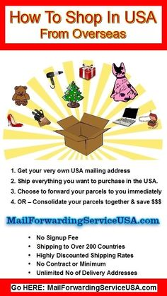 Parcel Forwarding Service USA  Too neat for overseas people. Buy on Amazon.com or eBay and send it where ever